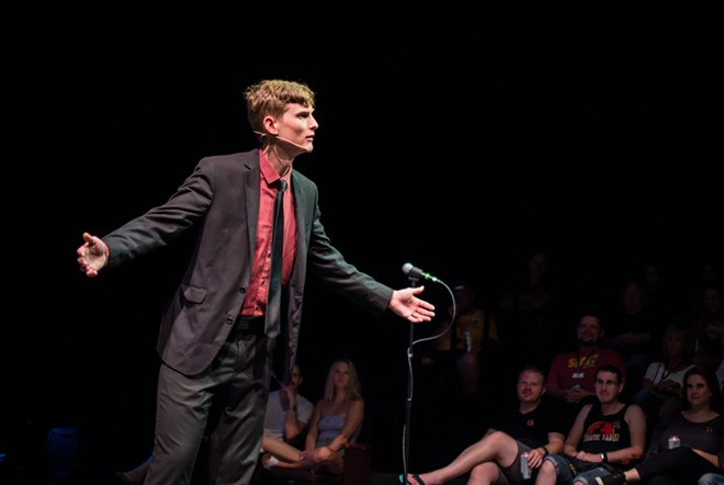 'Tonight at Midnight,' with Rauce Padgett - PHOTO BY ASHLEIGH GARDNER, COURTESY ORLANDO FRINGE