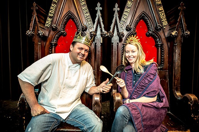Orlando restaurant royalty James and Julie Petrakis - ROB BARTLETT