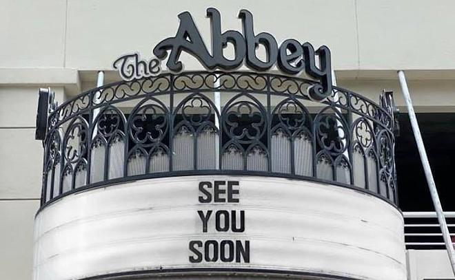 PHOTO COURTESY THE ABBEY/FACEBOOK