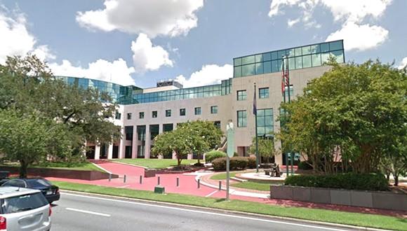 Leon County Courthouse - IMAGE VIA GOOGLE MAPS