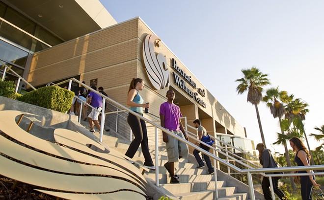 UCF Recreation and Wellness Center - PHOTO VIA UNIVERSITY OF CENTRAL FLORIDA/FACEBOOK