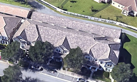 Chauvin's home is within a larger townhouse complex. - IMAGE VIA GOOGLE MAPS