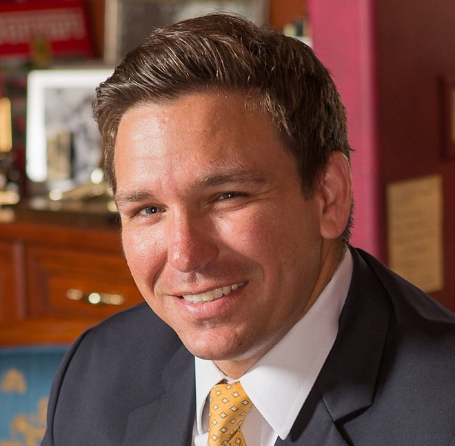 Republican Governor Ron DeSantis - PHOTO VIA RON DESANTIS FACEBOOK
