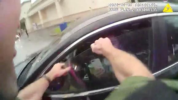 SCREENSHOT FROM ORANGE COUNTY SHERIFF'S BODY CAM FOOTAGE