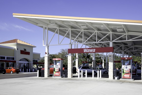 An Orlando Wawa gas station - PHOTO VIA ADOBE STOCK