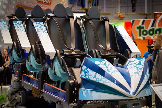 SeaWorld Orlando's Ice Breaker concept ride vehicle - IMAGE VIA FREDDY GRUNER