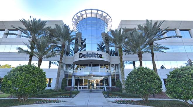 Deloitte's office in Lake Mary - IMAGE VIA GOOGLE MAPS
