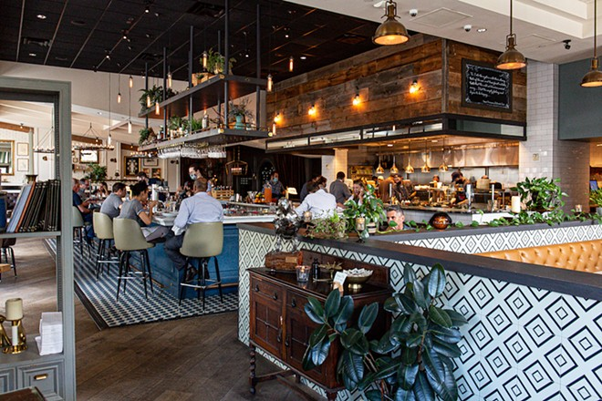 Interior: The Osprey Seafood and Spirits - PHOTO BY ROB BARTLETT