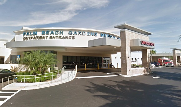 Palm Beach Gardens Medical Center - IMAGE VIA GOOGLE MAPS