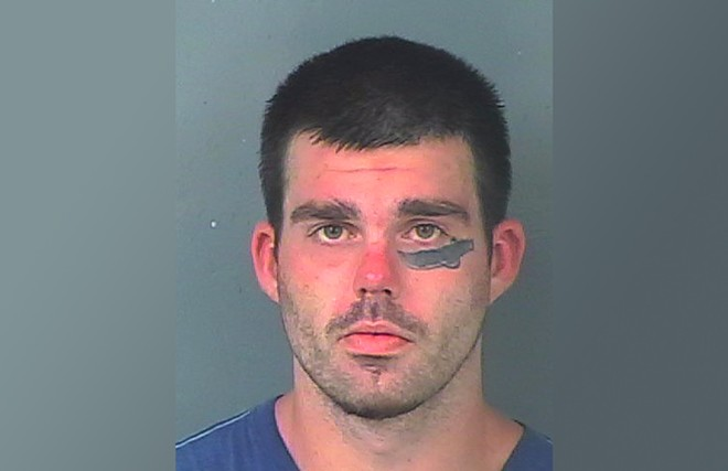 Justin Arthur Allen Couch is charged with aggravated battery - PHOTO VIA HERNANDO COUNTY SHERIFF'S OFFICE/FACEBOOK