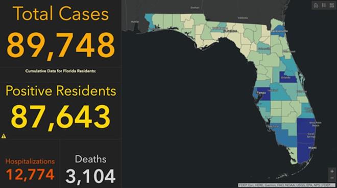 IMAGE VIA FLORIDA DEPARTMENT OF HEALTH