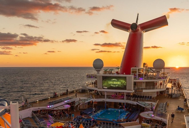 PHOTO VIA CARNIVAL CRUISE LINE/FACEBOOK