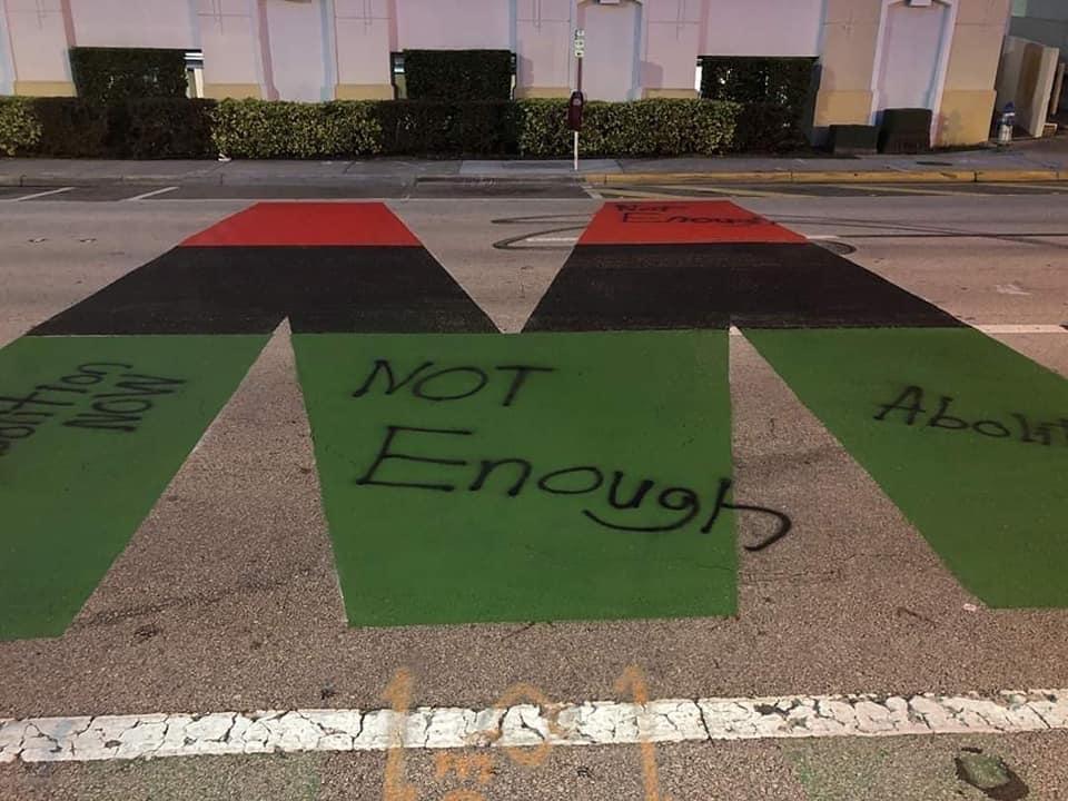 """""""Not enough."""" - PHOTO BY JENNIFER H. DESIRE"""