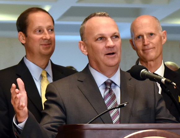 Then-Speaker of the Florida House Richard Corcoran in 2018 - PHOTO VIA FLORIDA HOUSE OF REPRESENTATIVES/WIKIMEDIA COMMONS