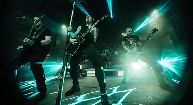 PHOTO COURTESY TRIVIUM/FACBOOK
