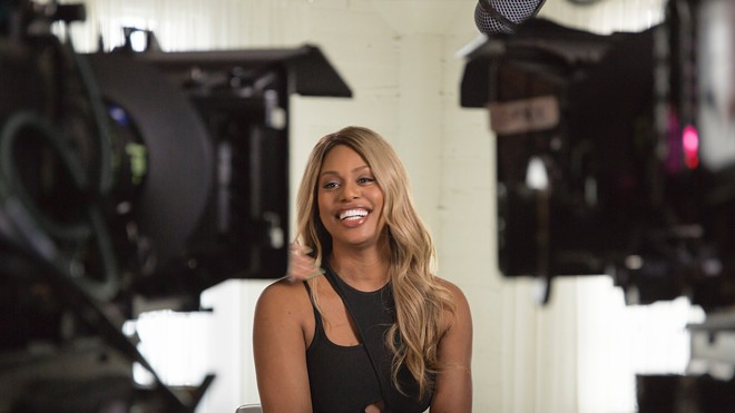 Laverne Cox in Disclosure - PHOTO COURTESY NETFLIX