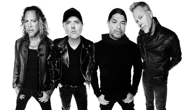 PHOTO COURTESY METALLICA/FACEBOOK
