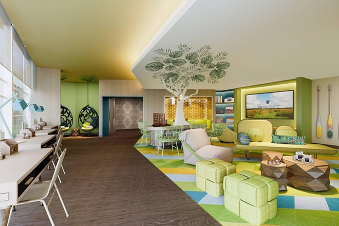 The Kids Activity Center at the JW Marriott Orlando Bonnet Creek - IMAGE VIA MARRIOTT