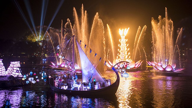 Animal Kingdom's Rivers of Light nighttime show - PHOTO BY DAVID ROARK
