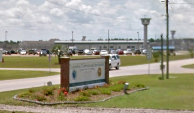 The Columbia Correctional Institution in Lake County is difficult to photograph. - IMAGE VIA GOOGLE MAPS