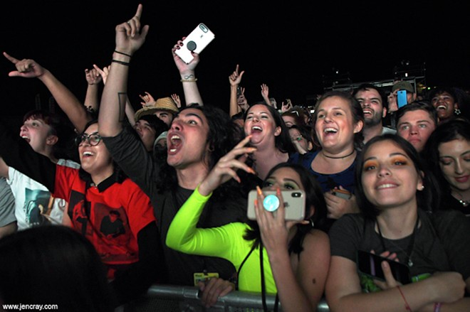 Crowd shot from the Florida Man Festival at Orlando Amphitheater - PHOTO BY JEN CRAY FOR ORLANDO WEEKLY