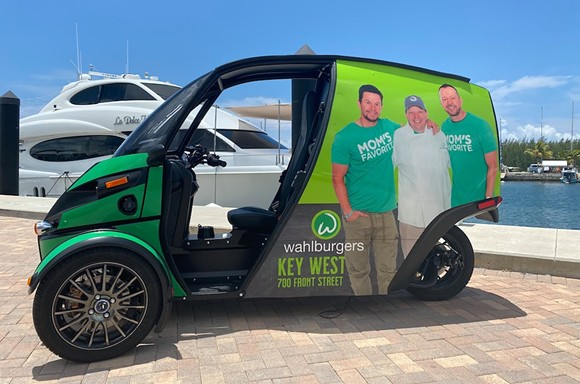 Wahlburgers' Deliverator - PHOTO COURTESY ARCIMOTO/FACEBOOK