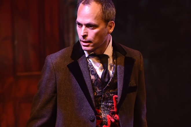 Orlando Shakes' performer Steven Lane - PHOTO BY TONY FIRRIOLO