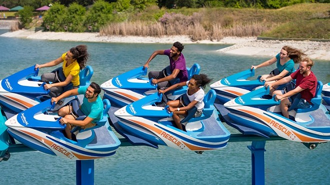 Wave Breaker: The Rescue Coaster at SeaWorld San Antonio - PHOTO VIA SEAWORLD SAN ANTONIO