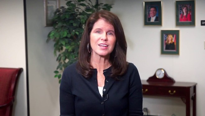 Florida Agency for Health Care Administration Secretary Mary Mayhew - SCREENSHOT VIA FHCAFLORIDA/YOUTUBE