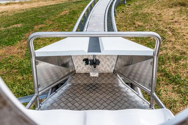 The drive mechanism inside CoasterKart ride vehicles is kept simple. - IMAGE VIA WIEGAND