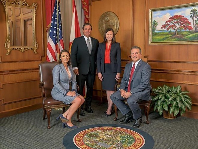 Major stranger danger with these four. - PHOTO VIA STATE OF FLORIDA