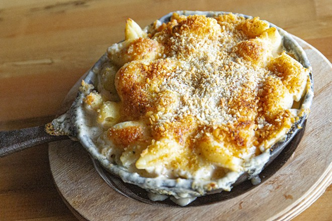 Pepper jack mac and cheese - PHOTO BY ROB BARTLETT