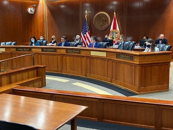 Florida Cabinet - PHOTO VIA NEWS SERVICE OF FLORIDA