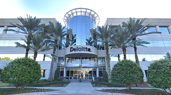 Deloitte Consulting headquarters in Lake Mary - IMAGE VIA GOOGLE MAPS