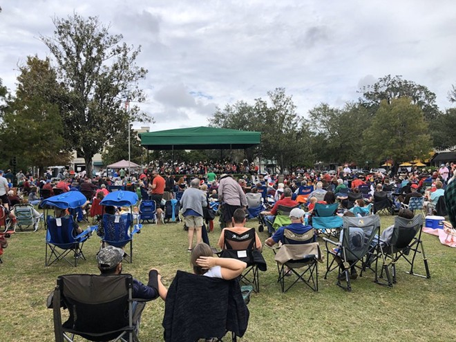 A Central Park afternoon concert back in the before time. Plan to sit farther apart this year. - PHOTO COURTESY OF THE CITY OF WINTER PARK
