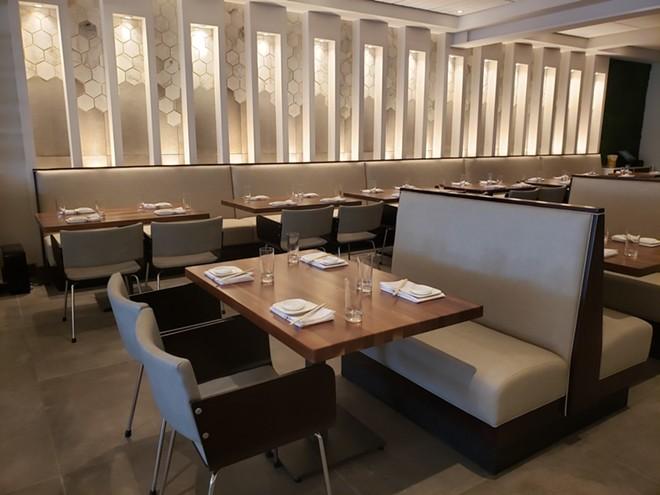 Main dining room - PHOTO BY FAIYAZ KARA