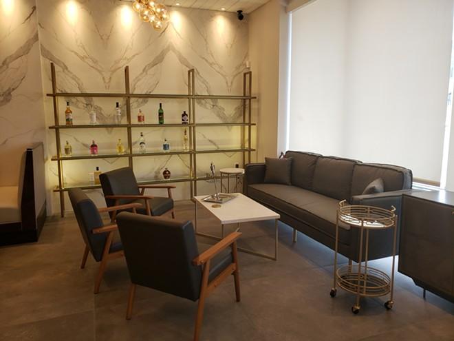 Lounge area - PHOTO BY FAIYAZ KARA