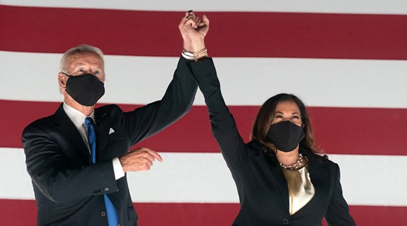 Vice President Joe Biden and Sen. Kamala Harris - PHOTO VIA JOE BIDEN/FLICKR