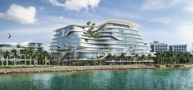 Royal Caribbean Cruises Ltd's new Miami HQ campus - IMAGE VIA ROYAL CARIBBEAN