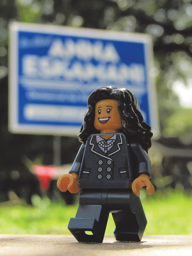 Onward with Anna! - PHOTO BY LEGO EXPLORE ORLANDO