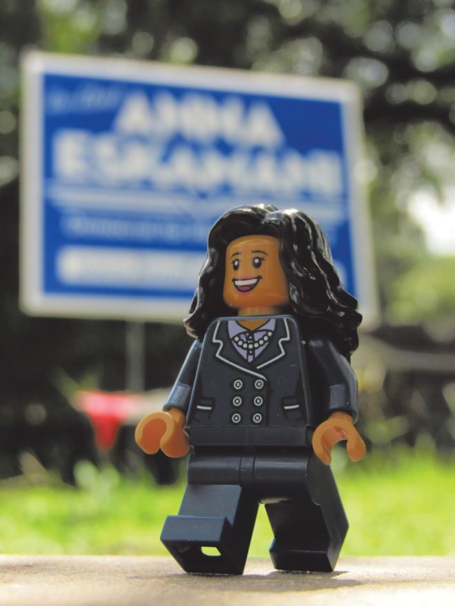 Onward with Anna! - PHOTO BY LEGO EXPLORE ORLANDO