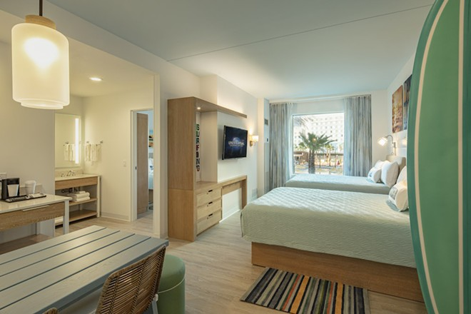 Two-bedroom suite at Dockside - PHOTO COURTESY UNIVERSAL ORLANDO
