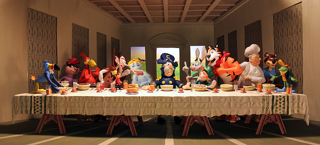 'The Last Breakfast' by Brian Stuckey - PHOTO COURTESY THE ARTIST
