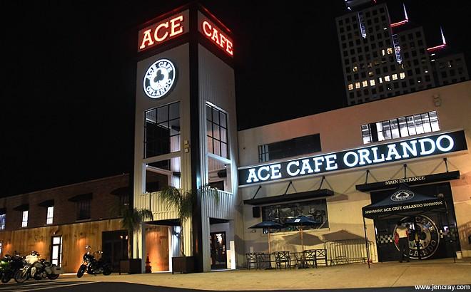 Ace Cafe - PHOTO BY JEN CRAY