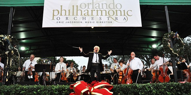 The Orlando Philharmonic in Central Park