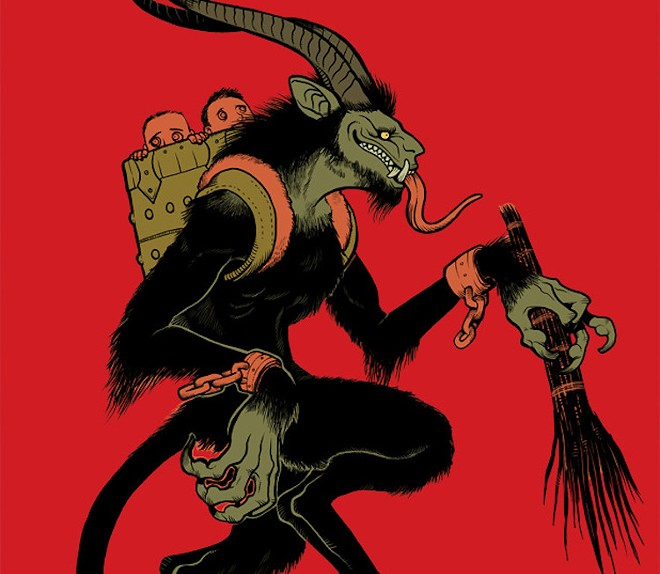 Will mete out punishments to non-mask wearers - PHOTO COURTESY KRAMPUSNACHT/FACEOOK