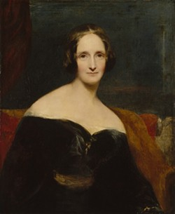 Mary Shelley, circa 1840. She died in 1851 at age 53. - IMAGE COURTESY NATIONAL PORTRAIT GALLERY