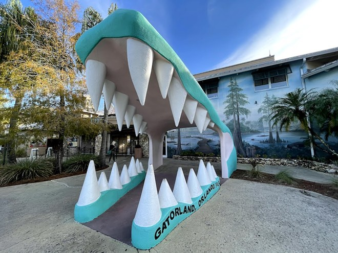 Gatorland's iconic entryway - PHOTO BY SETH KUBERSKY