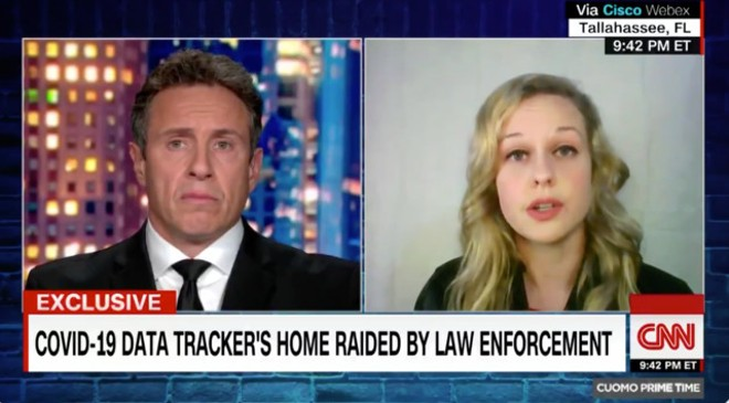 SCREENGRAB FROM 'CUOMO PRIME TIME' VIA TWITTER