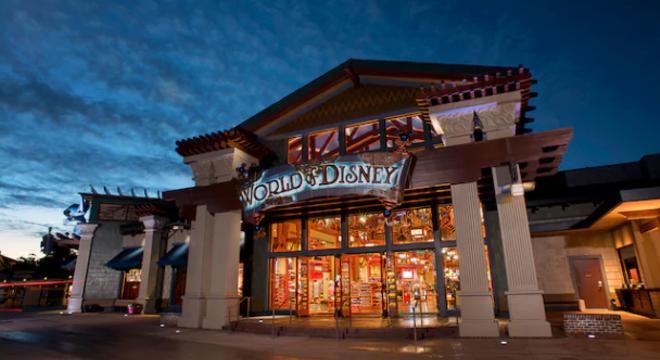 The World of Disney shop at Disney Springs - IMAGE VIA DISNEY